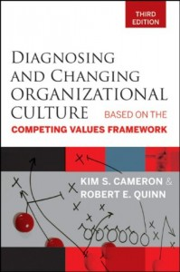 Diagnosing and Changing Organizational Culture – Kim S. Cameron and Robert E. Quinn